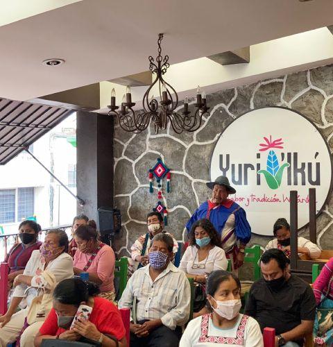 Diálogo con colectivos de pueblos originarios de Nayarit